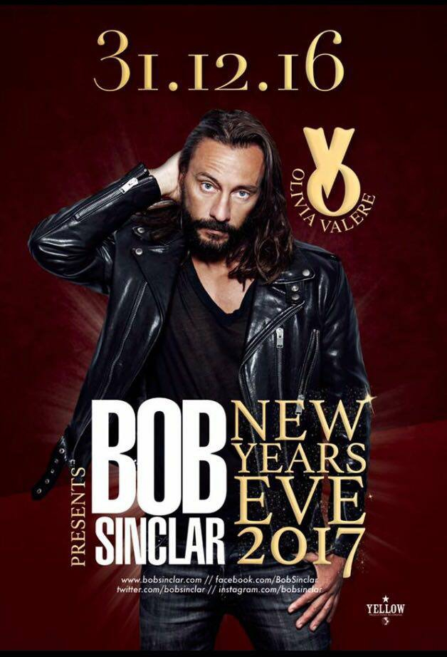 New Year's Eve with Bob Sinclar