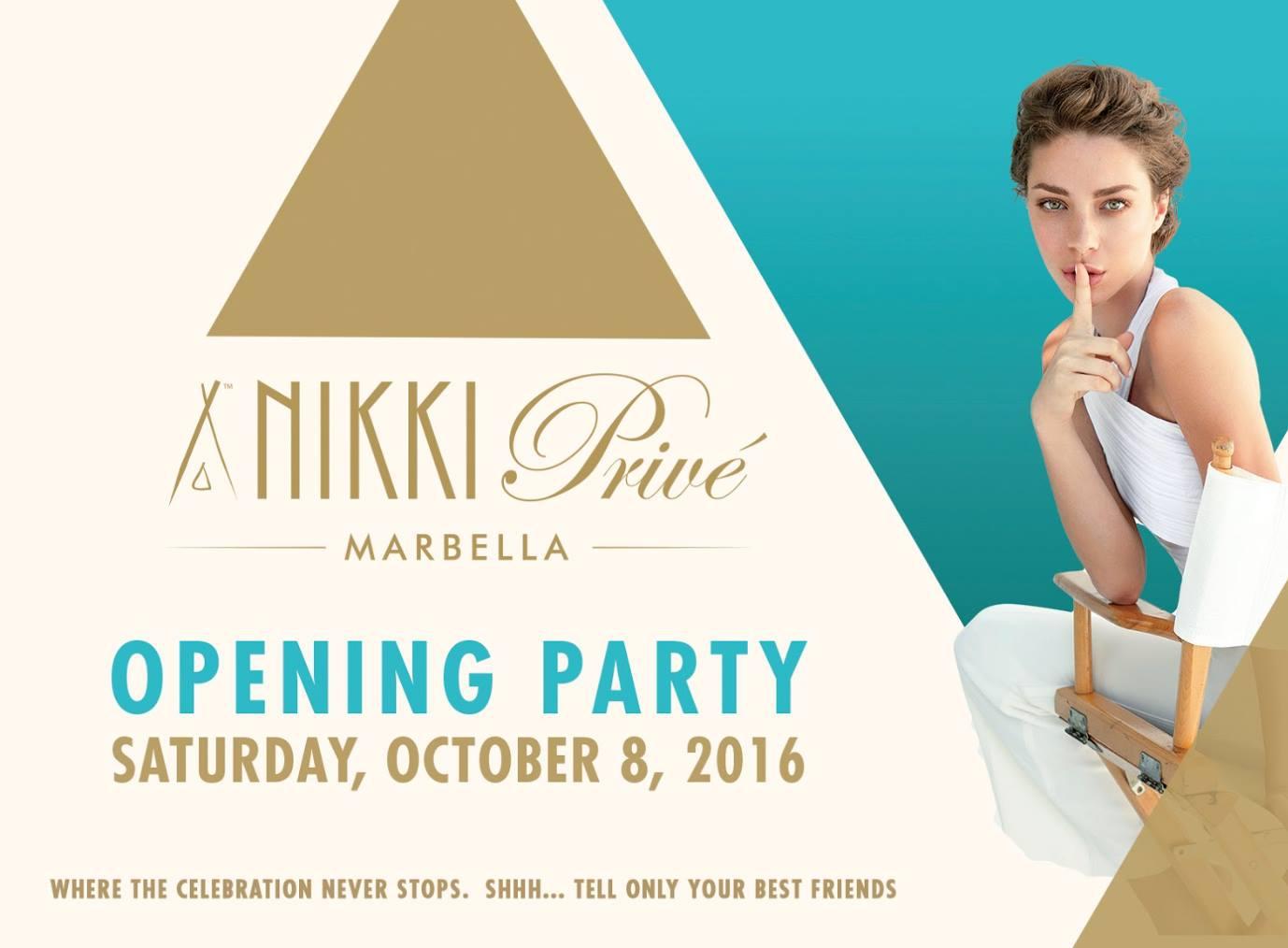 Opening Party Nikki Privé Marbella