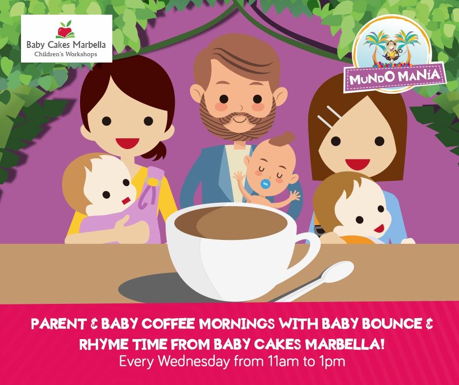 Parent and Baby Coffee Mornings at Mundo Manía
