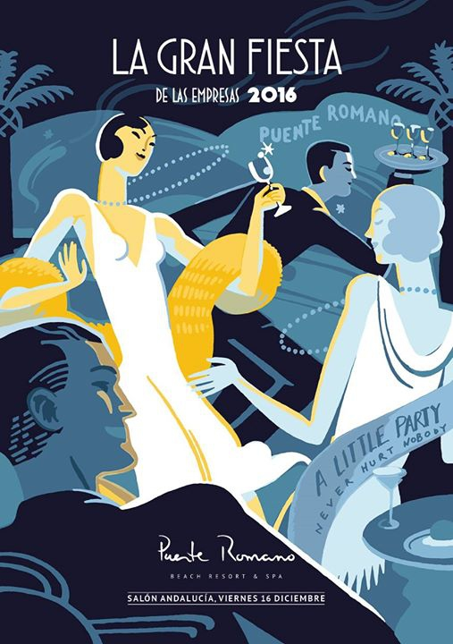 Puente Romano Hotel Presents - Great Gatsby Christmas Dinner