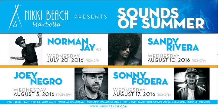 Sounds Of Summer 20th of July - Norman Jay