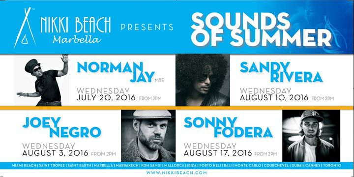 Sounds Of Summer 3rd of August - Joey Negro