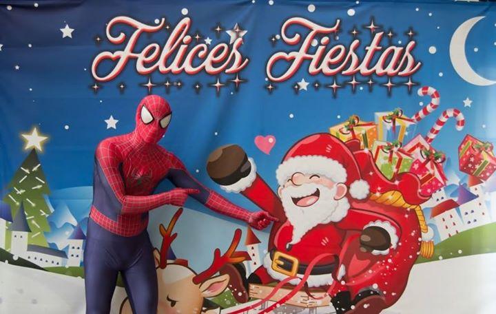 Spiderman en La Cabalgata de Reyes