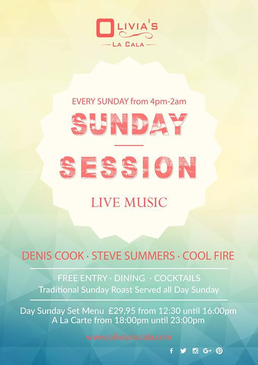 Sunday Sessions!
