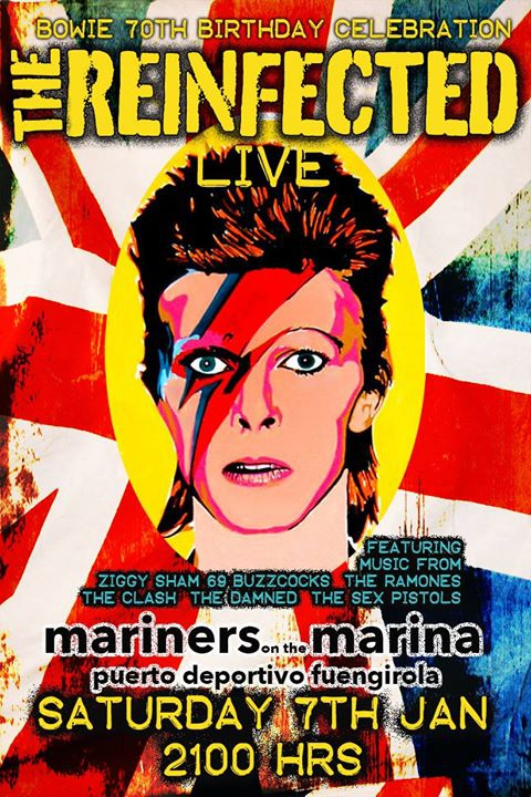 The Reinfected celebrate Bowie's 70th Birthday