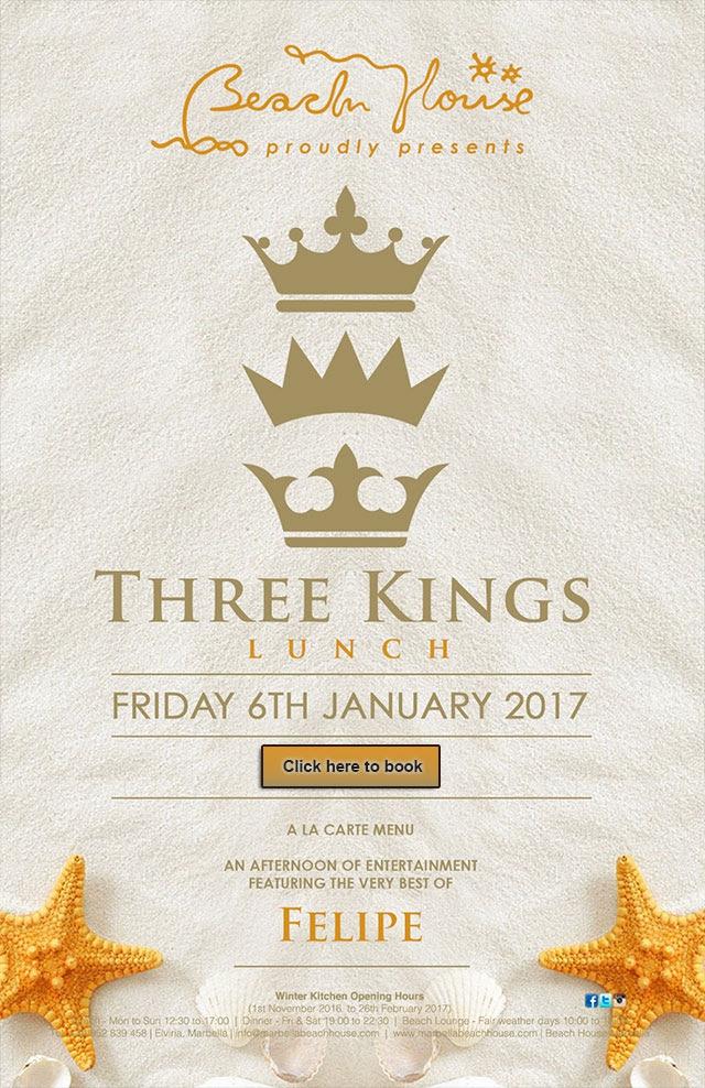 Three Kings at The Beach House