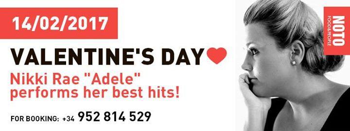 "Valentine's Day with Nikki Rae ""Adele"""