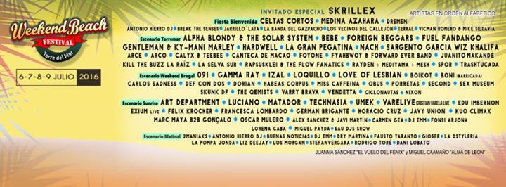 WeekendBeach Festival 2016