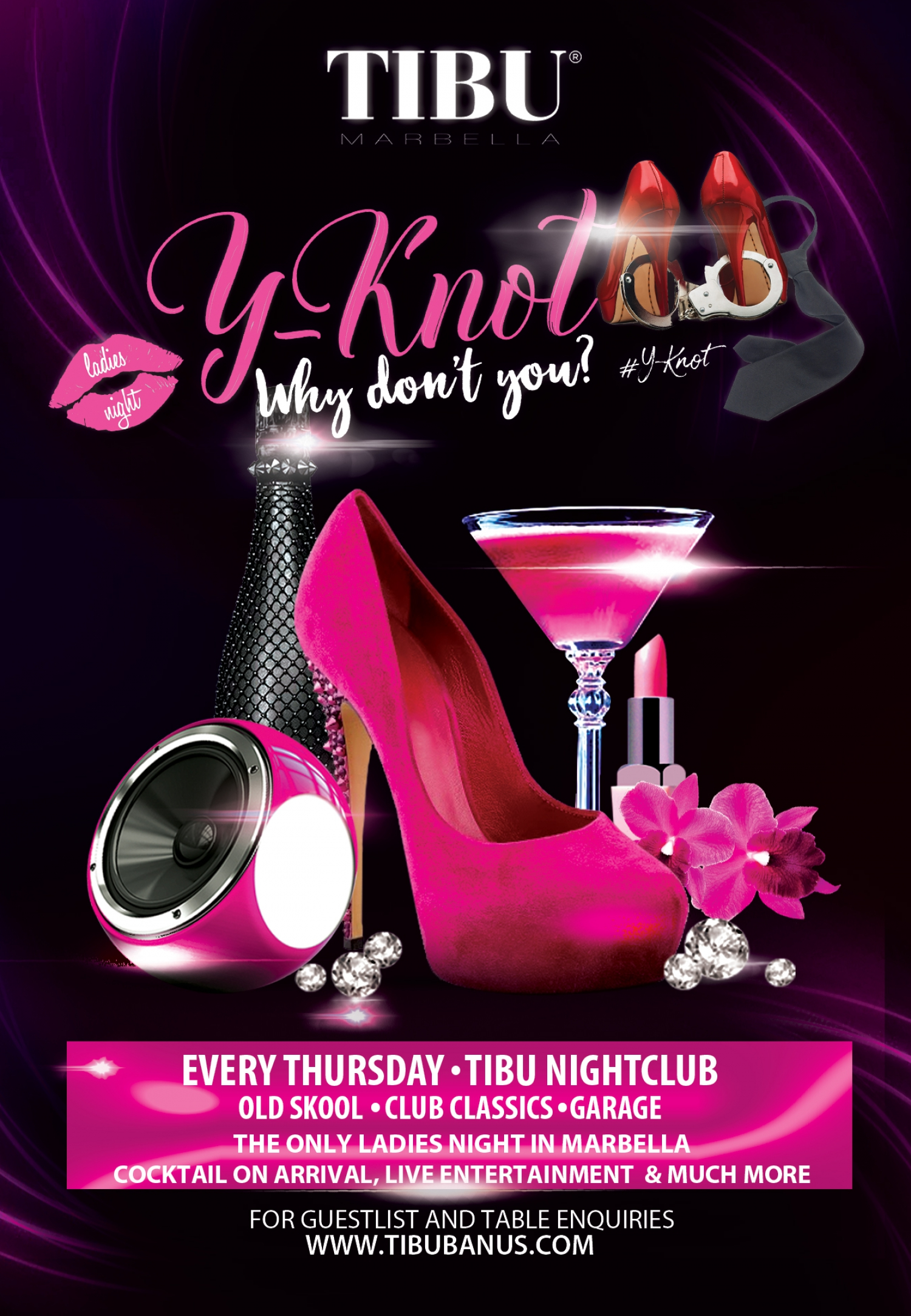 YKnot Ladies Night at Tibu