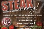 Steak It Easy at La Sala Gibraltar