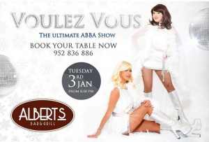 ABBA Tribute back at Alberts