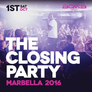 AqwaMist Official 2016 Closing Party