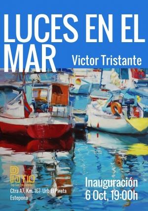 Art Exhibition of local artist Victor Tristante at Patio Top Garden Funiture