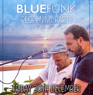 Blue Funk Reopening party