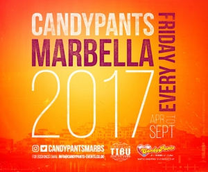 Candypants every Friday at Tibu