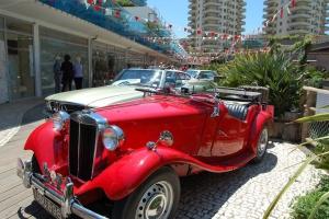 Classic Car Display at Ocean Village