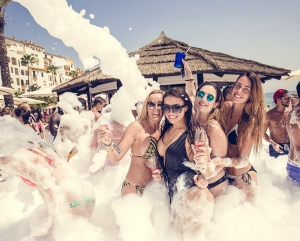 Foam Parties 2017 at Plaza Beach
