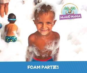 Foam Parties at Mundo Manía