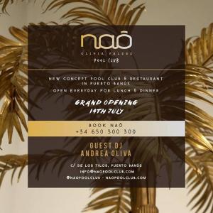 Grand Opening Naô Pool Club 14th July