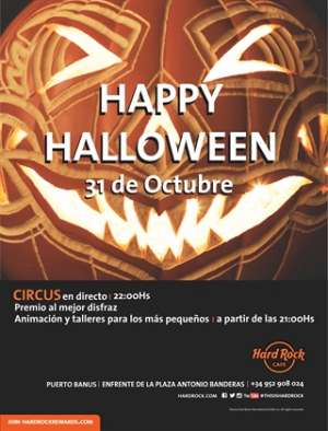 Hard Rock Cafe Halloween Party