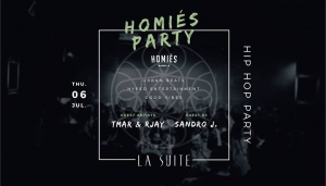 Homiés Hip Hop Party