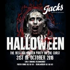Jacks American Brasserie Halloween Party