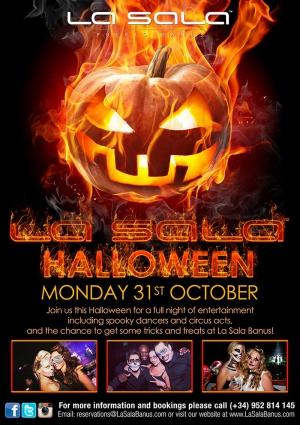 La Sala Halloween Party