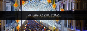 Malaga Christmas Lights Switch On