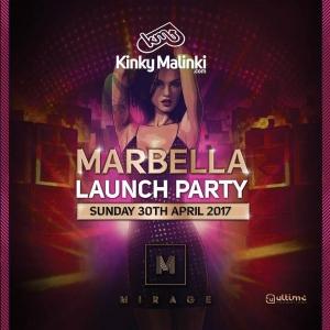 Mirage Launch Party with Kinky Malinki