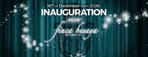 New Finca Besaya Inauguration