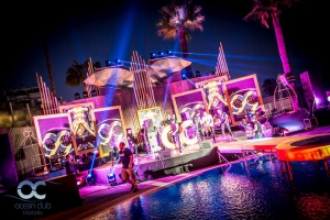 Ocean Club Black and Gold Closing party 2017