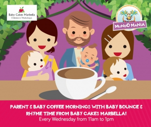 Parent and Baby Coffee Mornings at Mundo Manía