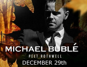 Peet Rothwell entertains you with his Michael Bublé Tribute