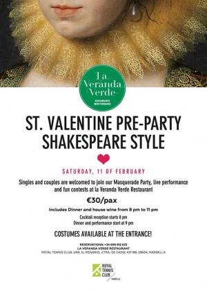 St. Valentine Pre-party