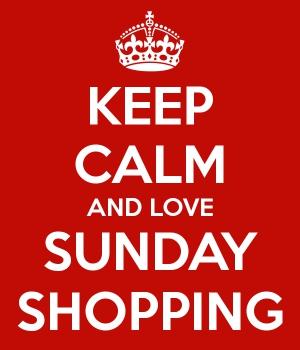 Sunday Shopping during the Festive Season