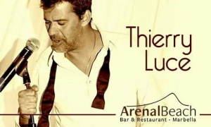 Thierry Luce at Arenal Beach Sunday 2 of October from 2:00pm!