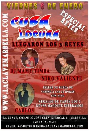 Viernes de Locura Cubana en La Clave