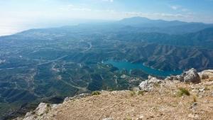 At the top of La Concha