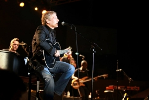 Crooner Michael Bolton brought the house down