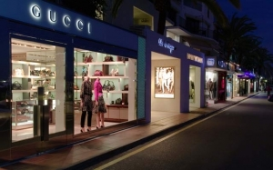 Designer shopping in Puerto Banus