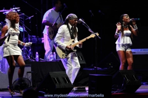 Nile Rodgers and Chic Concert - album on facebook