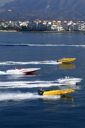 Speed boats in Puerto Banus (Gary Tapp)
