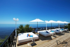 Sun deck to die for at El Oceano
