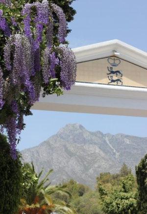 The world renowned Marbella Club Hotel