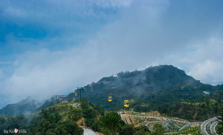 Telepheric of Ba Na Hills