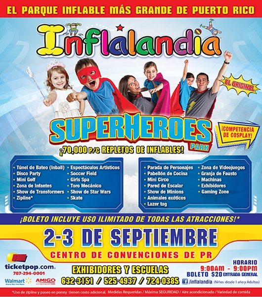 inflalandia flyer