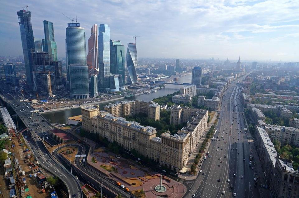 Ibukota Rusia, Moscow