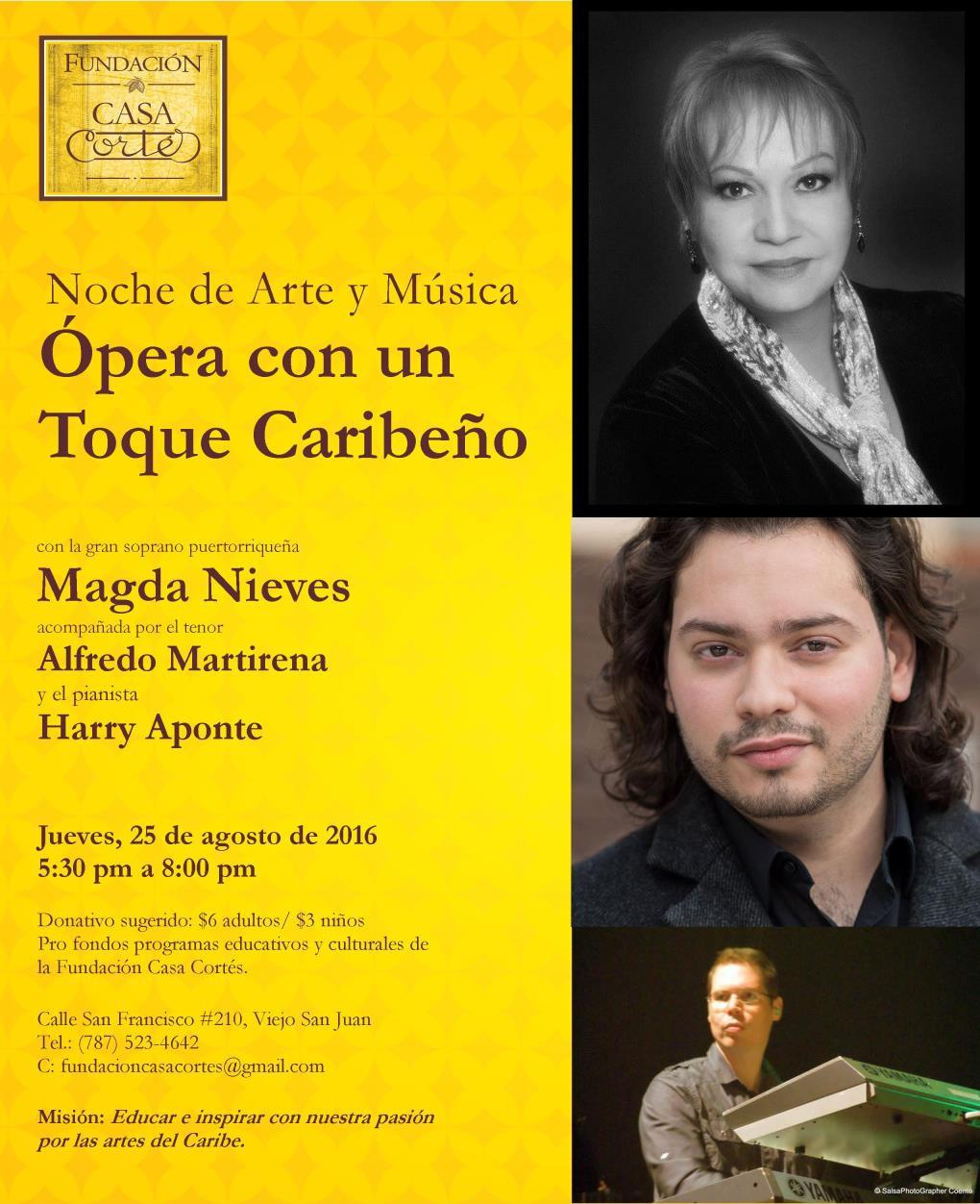 Casa Cortes Flyer