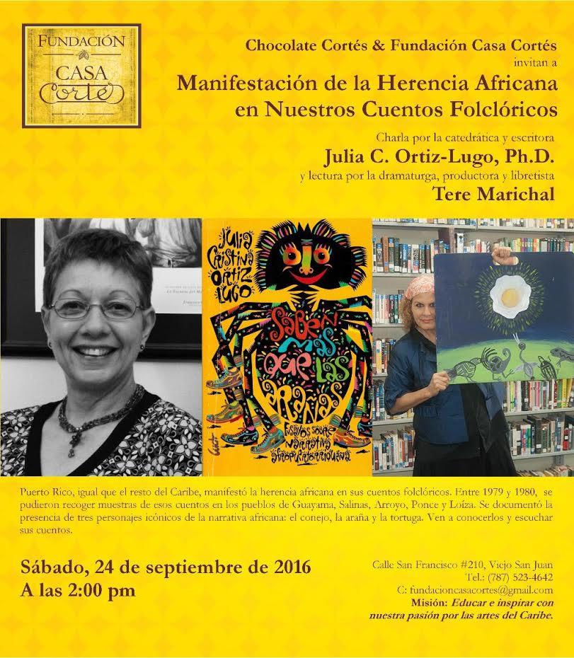 Fundación Casa Cortés Flyer