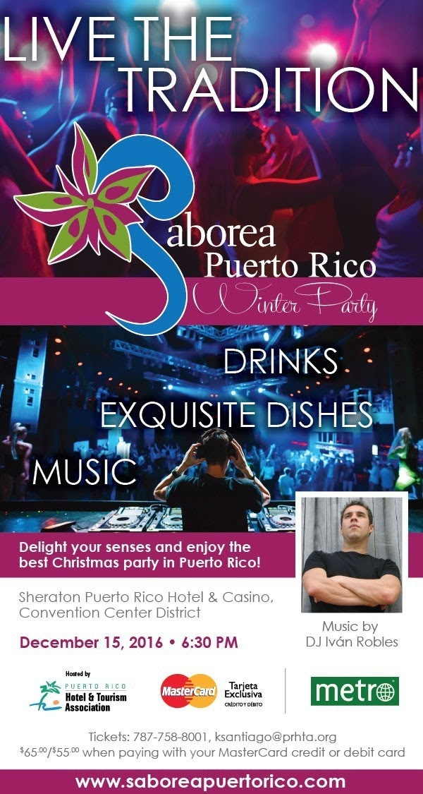 saborea puewrto rico winter party flyer